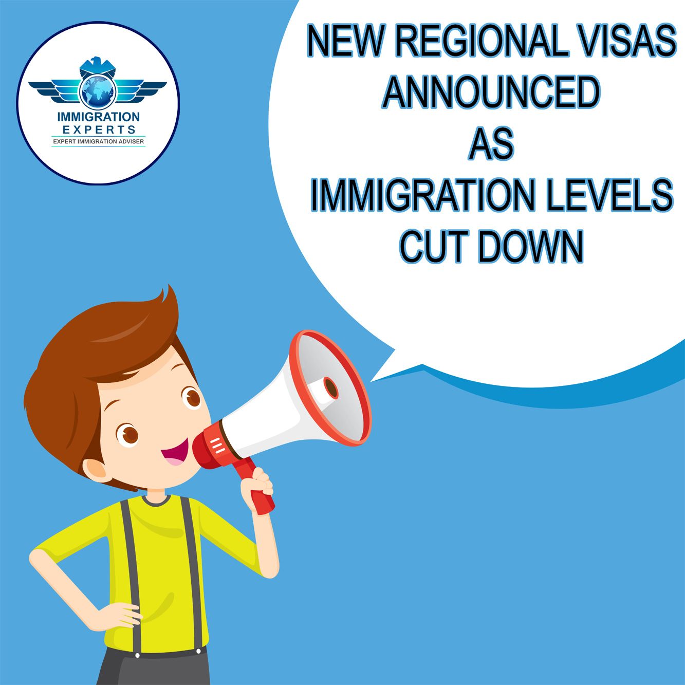 New regional visas announced as immigration levels cut down
