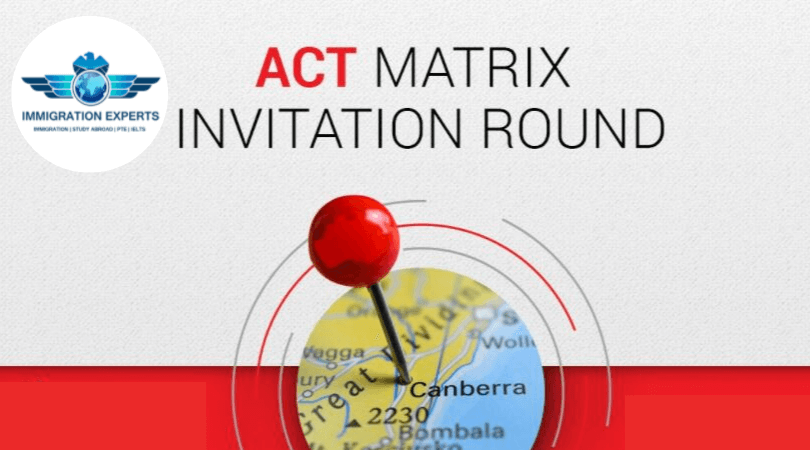 ACT Latest Invitation Round, 8th October