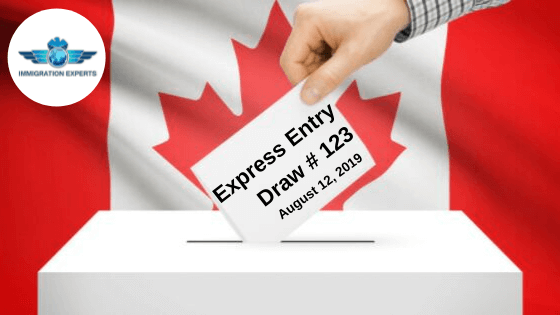 Latest Express Entry Draw CRS Out On 12th August 2019