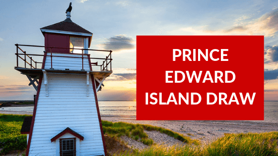 Prince Edward Island's issues 143 Invitations in The Latest Draw