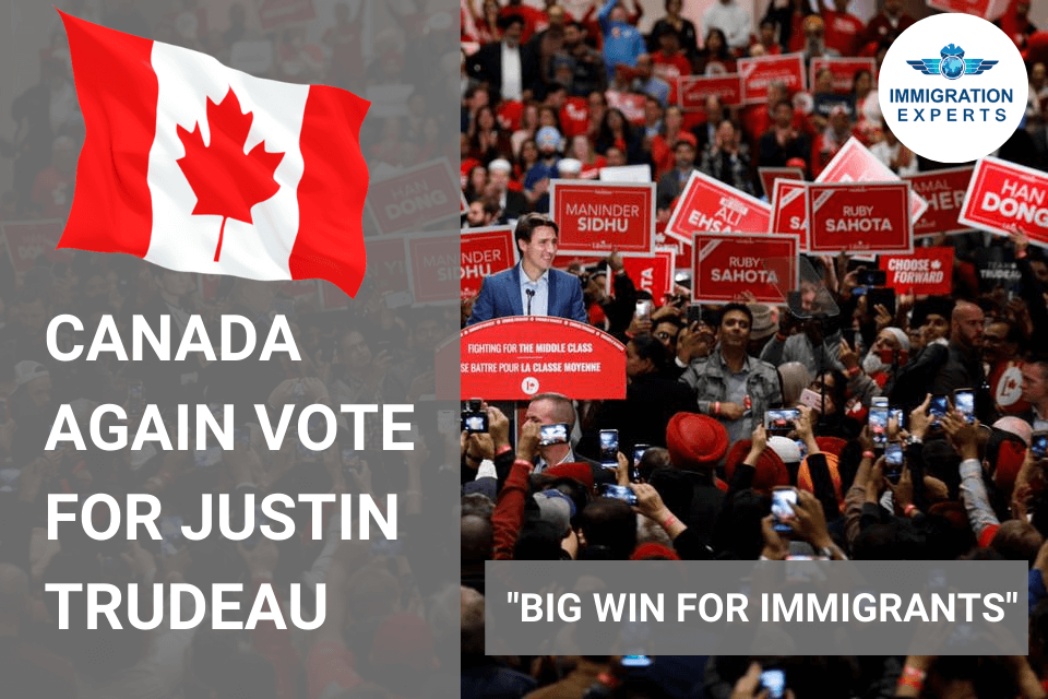 Justin Trudeau 2.0 – Immigration to Canada to become faster and easier