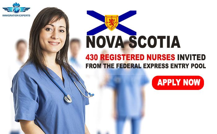 Nova Scotia Provincial Nominee Program: 430 Registered Nurses Invited from the Federal Express Entry Pool