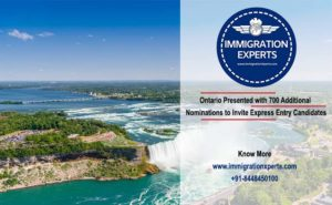 Ontario Presented with 700 Additional Nominations to Invite Express Entry Candidates