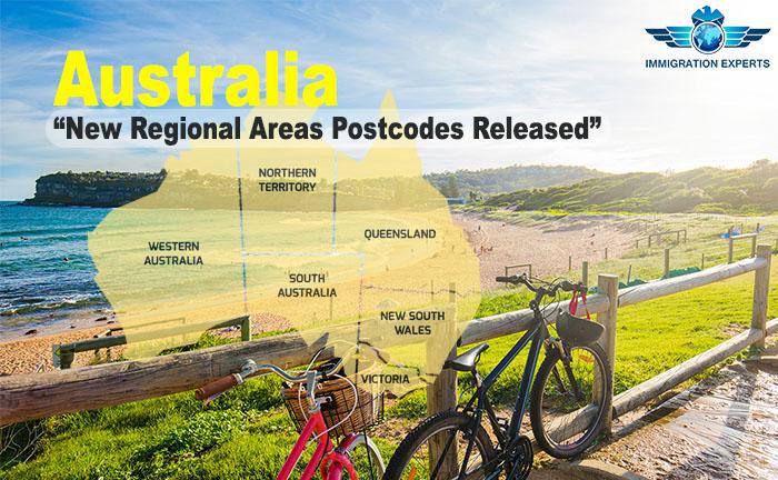 New Postcodes Released for Regional Areas of Australia