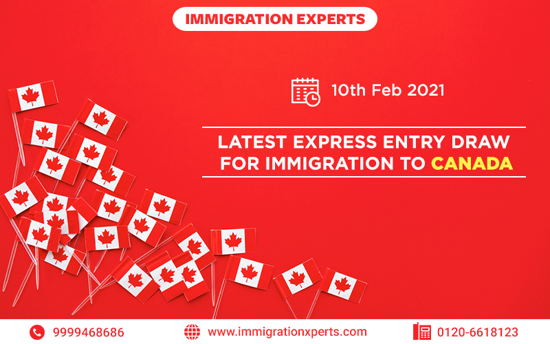 Latest Express Entry Draw for Immigration to Canada