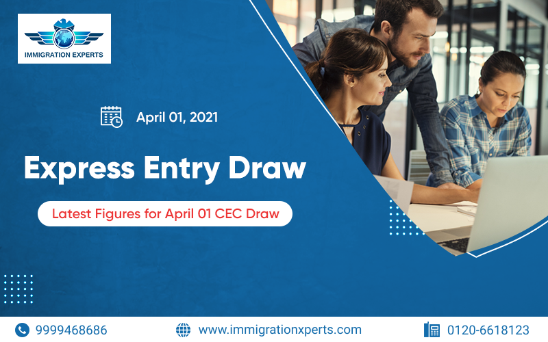 Express Entry Draw – Latest Figures below for April 01 CEC Draw